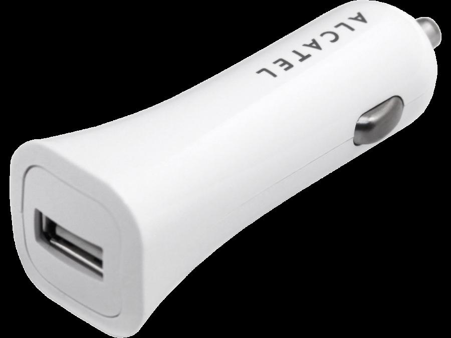 Зарядное устройство автомобильное Alcatel One Touch CC40 (White)