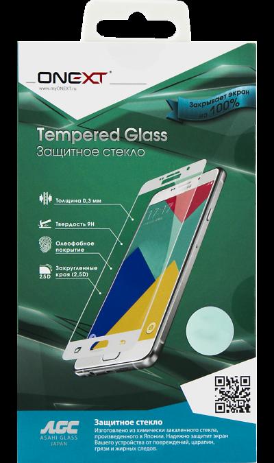 Защитное стекло One-XT для Galaxy A3 (2017) (с черной рамкой)