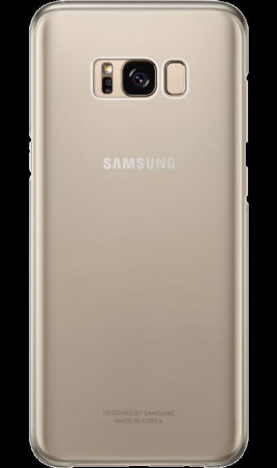 Чехол-крышка Samsung для Galaxy S8 Plus, пластик, золотистый